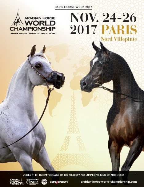 LIVE! PARIS ARABIAN HORSE WORLD CHAMPIONSHIPS 2017