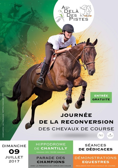 Raceday dedicated to the retraining of racehorses to be held at Chantilly racecourse on Sunday, 9 July