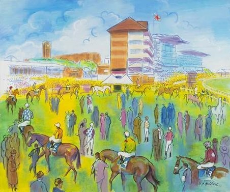 Terence Gilbert - A light hearted look at the racecourse