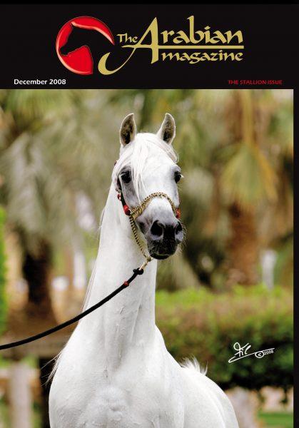 Farres straight Egyptian The Arabian Magazine cover star stallion